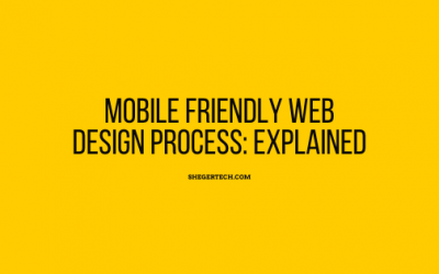 Mobile friendly Web Design Process: Explained