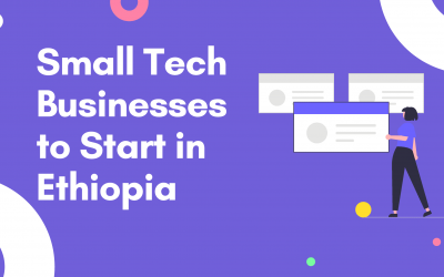 Small Tech Businesses to Start in Ethiopia